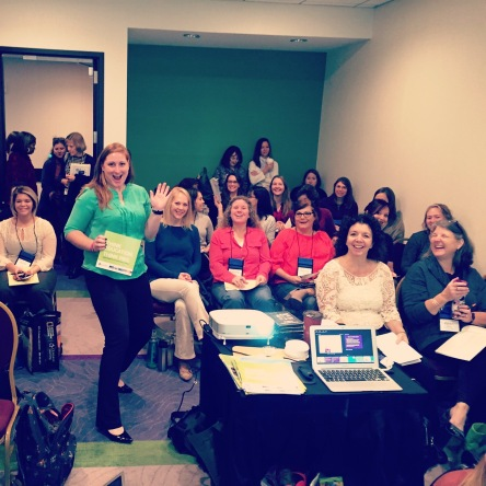My second of two packed sessions! Such overwhelming positivity and eagerness to be great educators!
